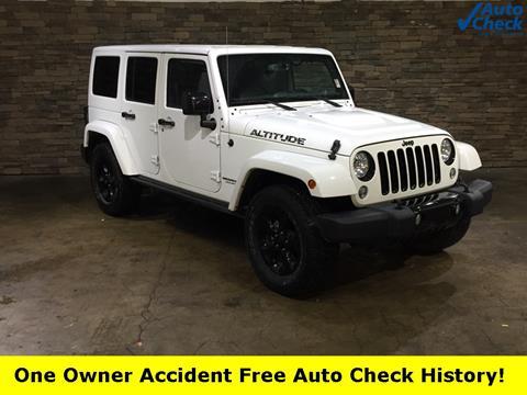 2015 Jeep Wrangler Unlimited for sale in Mattoon, IL