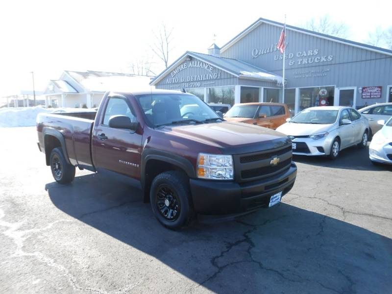 2009 Chevrolet Silverado 1500 4x2 Work Truck 2dr Regular Cab 8 Ft