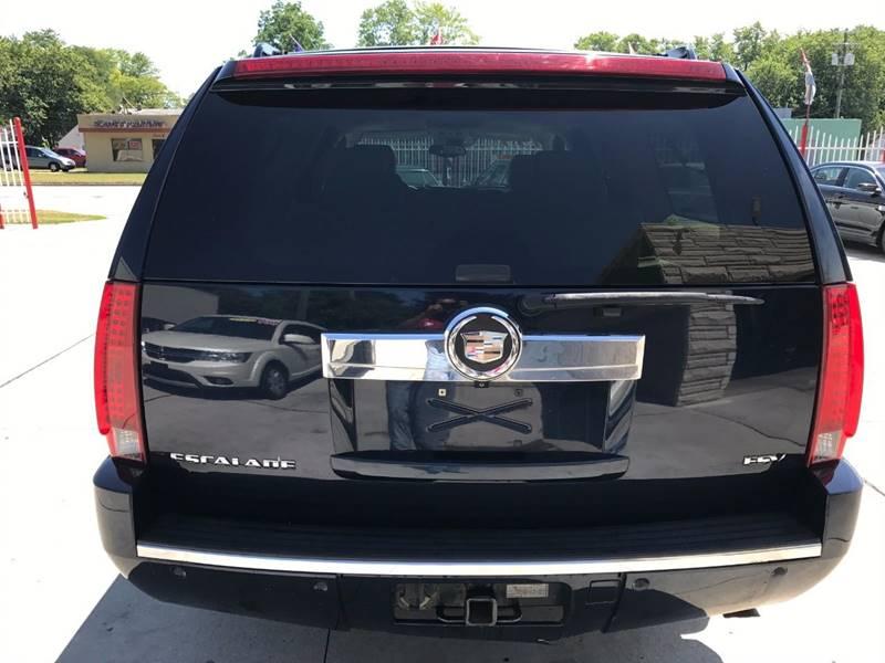 2007 Cadillac Escalade Esv Detroit Used Car for Sale