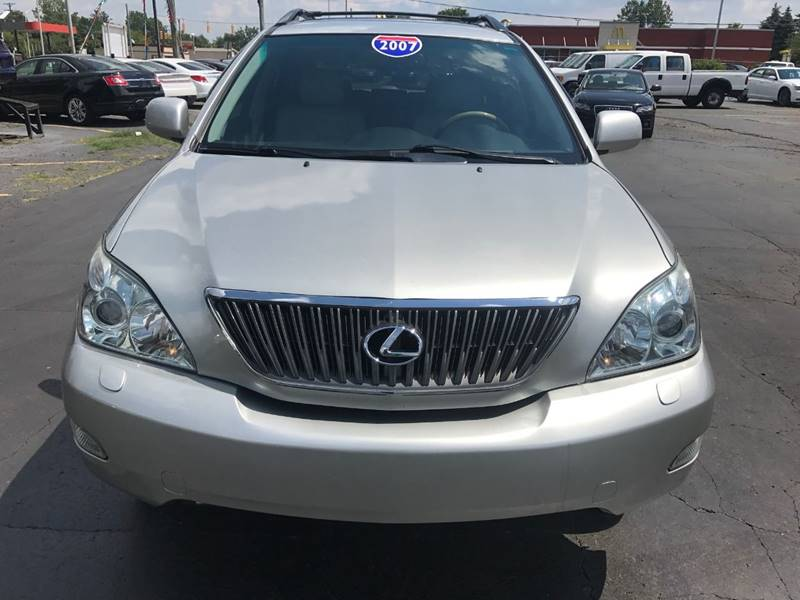 2007 Lexus Rx 350 Detroit Used Car for Sale