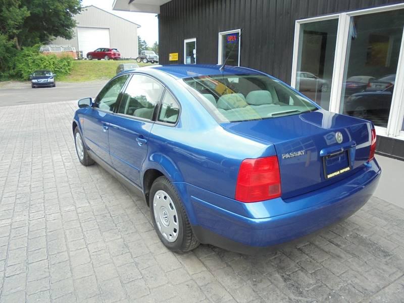 1999 Volkswagen Passat 4dr GLS 1.8T Turbo Sedan - Lock Haven PA