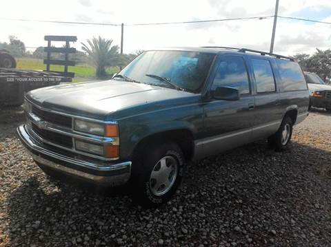1994 GMC Suburban for sale at AUTO CARE CENTER INC in Fort Pierce FL