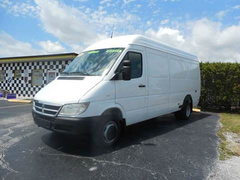 2004 Dodge Sprinter Cargo for sale at AUTO CARE CENTER INC in Fort Pierce FL