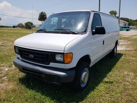 2006 Ford E-Series Cargo for sale at AUTO CARE CENTER INC in Fort Pierce FL