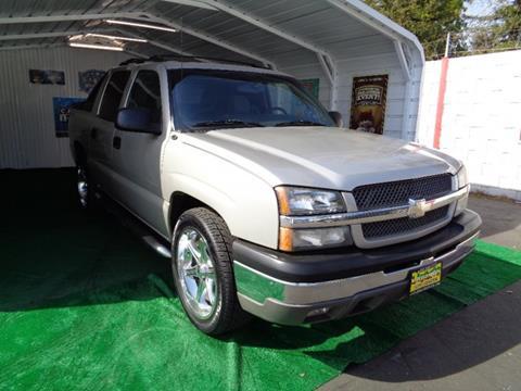 2004 Chevrolet Avalanche for sale in Sacramento, CA