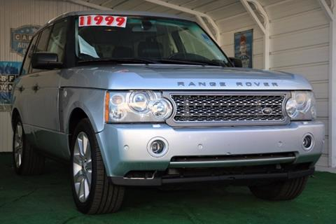 2007 Land Rover Range Rover for sale in Sacramento, CA