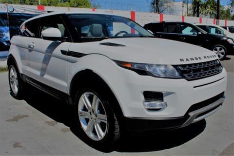 Land Rover Sacramento >> Land Rover Range Rover Evoque Coupe For Sale In Sacramento Ca