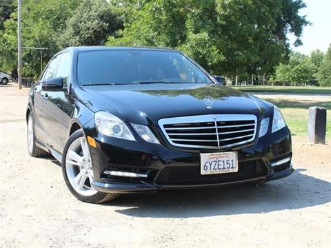 2013 Mercedes-Benz E-Class for sale in Sacramento, CA