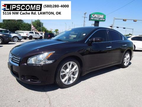 2012 Nissan Maxima for sale in Lawton, OK