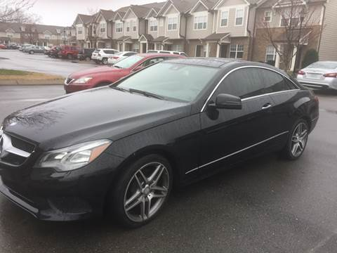 Ron'S Auto Sales >> Mercedes Benz E Class For Sale In Mount Juliet Tn Ron S