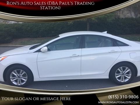 Ron'S Auto Sales >> Hyundai Sonata For Sale In Mount Juliet Tn Ron S Auto