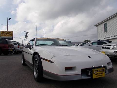 1987 Pontiac Fiero for sale in Mount Zion, IL