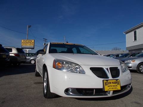 2008 Pontiac G6 for sale in Mount Zion, IL