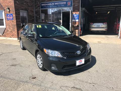 2012 Toyota Corolla for sale at Michaels Motor Sales INC in Lawrence MA