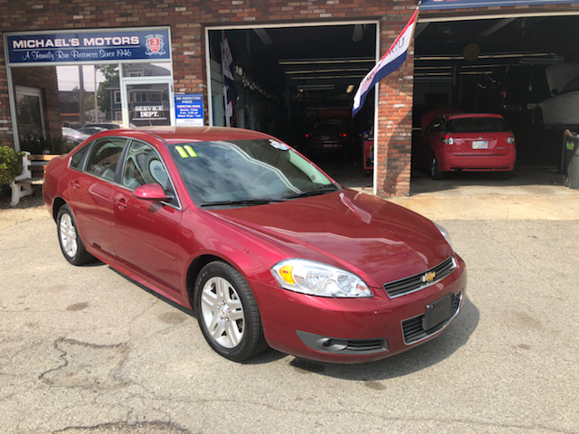 2011 Chevrolet Impala for sale at Michaels Motor Sales INC in Lawrence MA