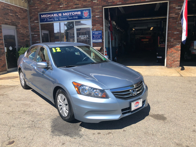 2012 Honda Accord for sale at Michaels Motor Sales INC in Lawrence MA