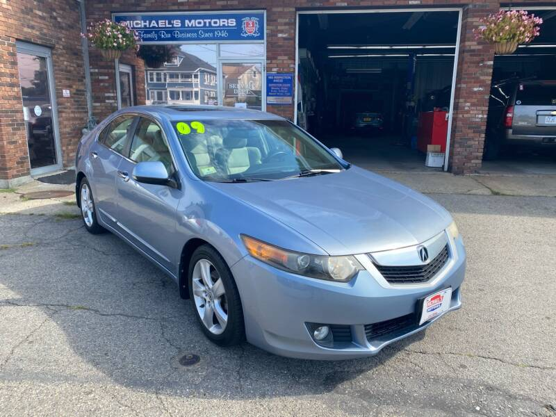 2009 Acura TSX 4dr Sedan 5A w/Technology Package - Lawrence MA