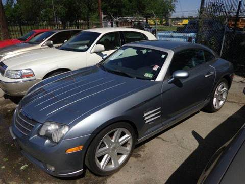 2004 Chrysler Crossfire for sale at FAIR DEAL AUTO SALES INC in Houston TX