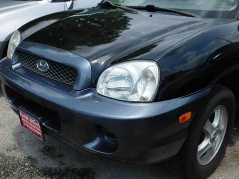 2004 Hyundai Santa Fe for sale at FAIR DEAL AUTO SALES INC in Houston TX