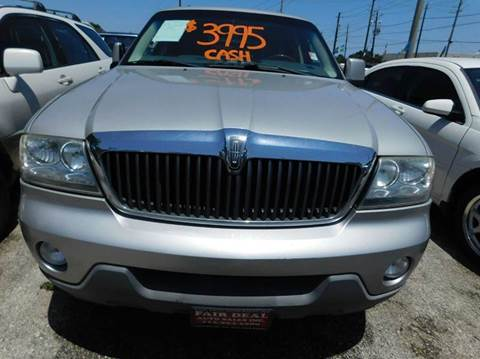 2003 Lincoln Aviator for sale in Houston, TX