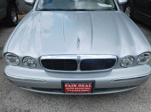 2004 Jaguar XJ-Series for sale at FAIR DEAL AUTO SALES INC in Houston TX