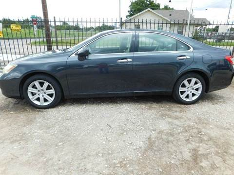 2007 Lexus ES 350 for sale at FAIR DEAL AUTO SALES INC in Houston TX