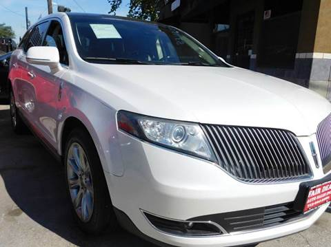2013 Lincoln MKT for sale at FAIR DEAL AUTO SALES INC in Houston TX