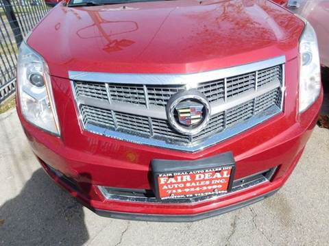 2012 Cadillac SRX for sale at FAIR DEAL AUTO SALES INC in Houston TX