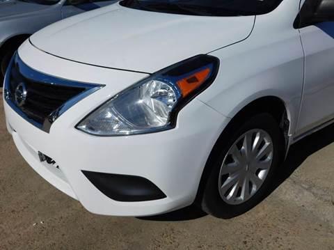 2015 Nissan Versa for sale at FAIR DEAL AUTO SALES INC in Houston TX