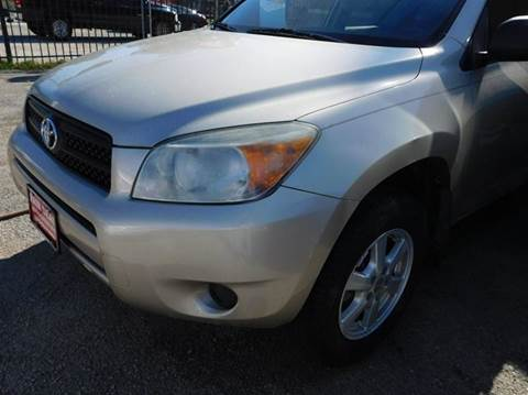 2008 Toyota RAV4 for sale at FAIR DEAL AUTO SALES INC in Houston TX