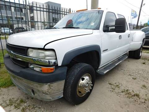 2001 Chevrolet Silverado 3500 for sale at FAIR DEAL AUTO SALES INC in Houston TX