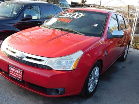 2008 Ford Focus for sale at FAIR DEAL AUTO SALES INC in Houston TX