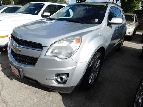 2010 Chevrolet Equinox for sale at FAIR DEAL AUTO SALES INC in Houston TX