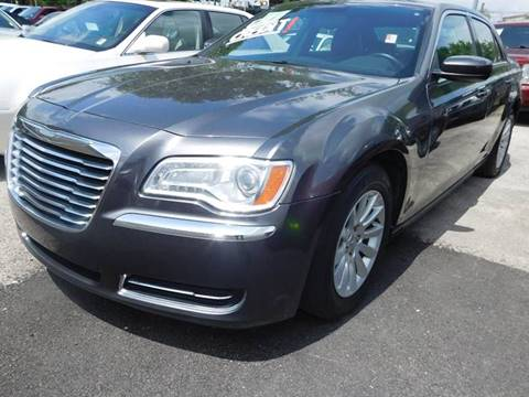 2014 Chrysler 300 for sale at FAIR DEAL AUTO SALES INC in Houston TX