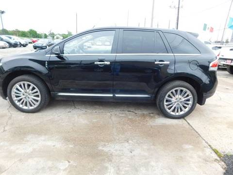 2013 Lincoln MKX for sale at FAIR DEAL AUTO SALES INC in Houston TX