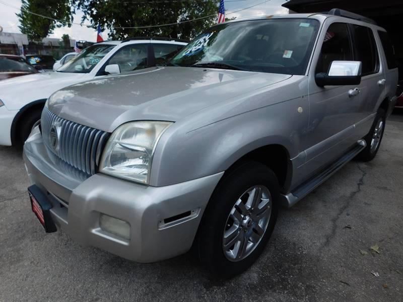 Suv Auto Sales Houston Tx: 2006 Mercury Mountaineer Premier 4dr SUV In Houston TX