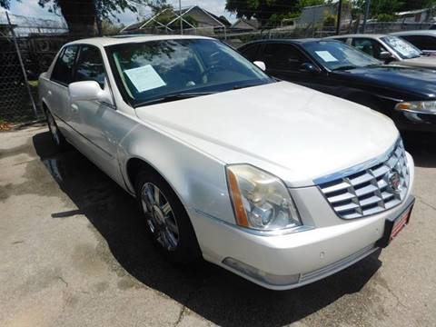 2008 Cadillac DTS for sale at FAIR DEAL AUTO SALES INC in Houston TX