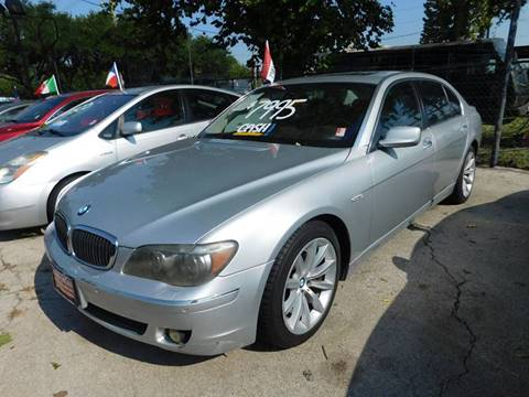 2007 BMW 7 Series for sale at FAIR DEAL AUTO SALES INC in Houston TX