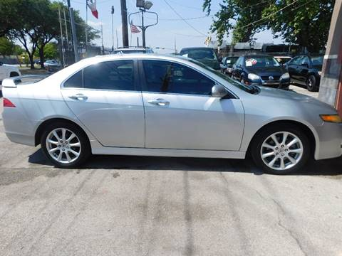 2006 Acura TSX for sale at FAIR DEAL AUTO SALES INC in Houston TX