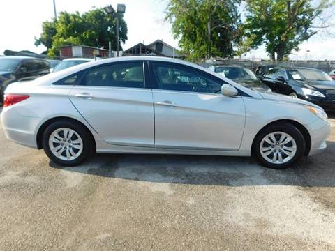 2012 Hyundai Sonata for sale at FAIR DEAL AUTO SALES INC in Houston TX