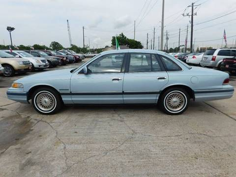 Carsforsale Com Houston >> Used 1992 Ford Crown Victoria For Sale - Carsforsale.com®