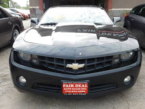 2013 Chevrolet Camaro for sale at FAIR DEAL AUTO SALES INC in Houston TX