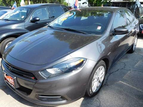 2014 Dodge Dart for sale at FAIR DEAL AUTO SALES INC in Houston TX