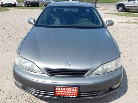 1998 Lexus ES 300 for sale at FAIR DEAL AUTO SALES INC in Houston TX
