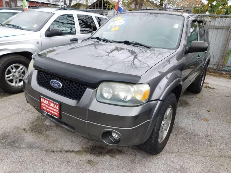 Suv Auto Sales Houston Tx: 2005 Ford Escape AWD Limited 4dr SUV In Houston TX