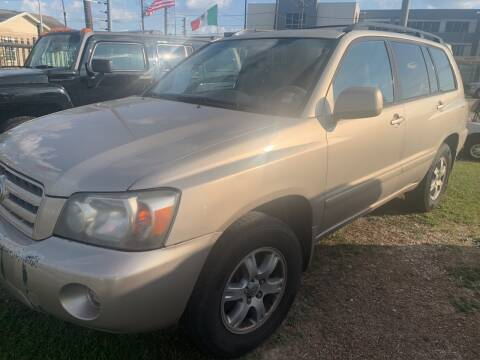 2007 Toyota Highlander for sale at FAIR DEAL AUTO SALES INC in Houston TX