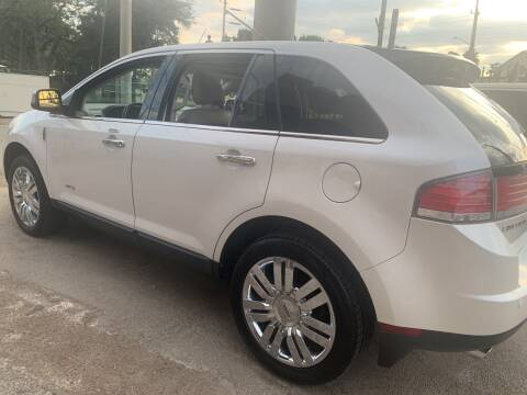 2009 Lincoln MKX for sale at FAIR DEAL AUTO SALES INC in Houston TX