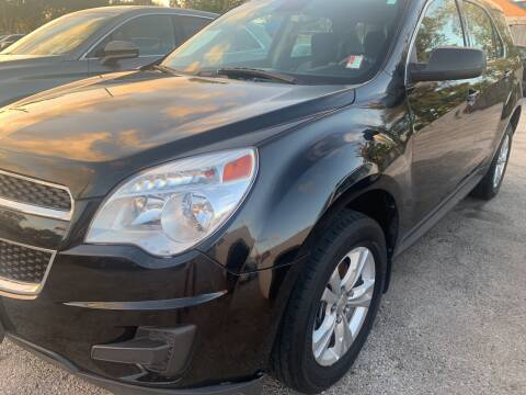 2012 Chevrolet Equinox for sale at FAIR DEAL AUTO SALES INC in Houston TX