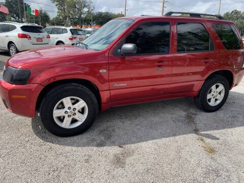 2007 Mercury Mariner Hybrid for sale at FAIR DEAL AUTO SALES INC in Houston TX