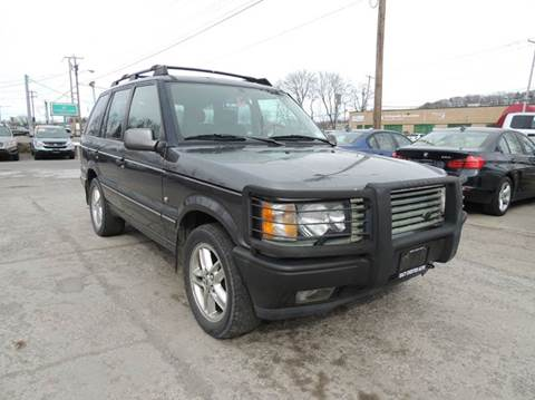 2001 Land Rover Range Rover for sale at EAST CHESTER AUTO GROUP INC. in Kingston NY